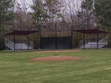 Baseball Diamond Aluminum Bleachers