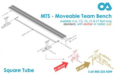 Moveable Team Bench