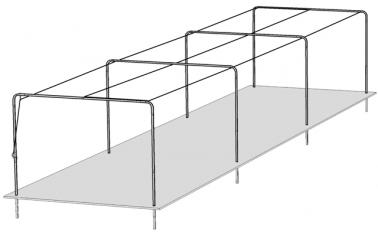 Baseball Batting Tunnel Frame
