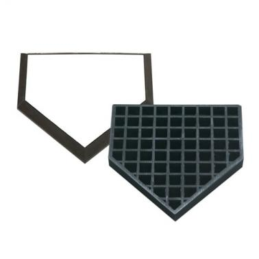 Waffle Bottom In-Ground Home Plate