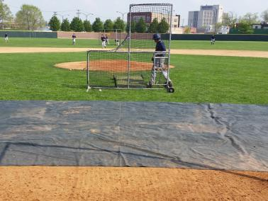 Infield Mesh Cover