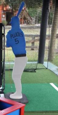 Batter Mannequin for Pitching Practice