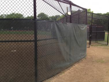 Backstop Windscreen
