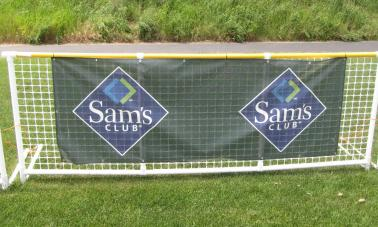 Softball Outfield Windscreens