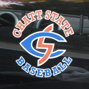 College Baseball Car Decals