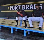 MLB Wood Benches