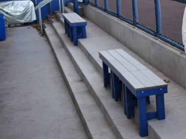 Benches for Baseball Fields