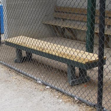 Benches for Bullpens and Dugouts