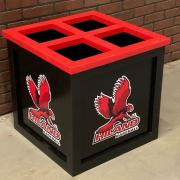 MLB quality dugout storage