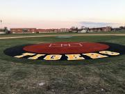 home plate artificial turf halo