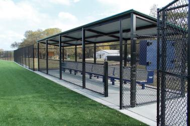 Baseball Field Benches