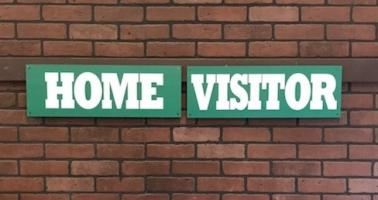 Dugout Header - Home & Visitors