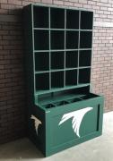dugout storage rack, king of the dugout