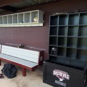 elite dugout storage unit