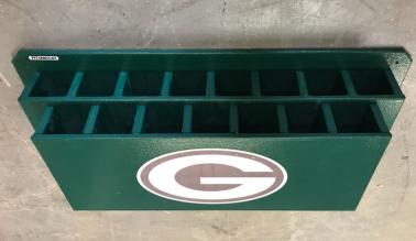 Softball Bat Dugout Rack