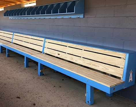 Swell Condor Bench 2 Tier Wood Baseball Dugout Bench Pyt Sports Ocoug Best Dining Table And Chair Ideas Images Ocougorg