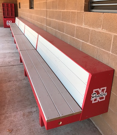 Wondrous Eagle Bench Baseball Dugout Benches Pyt Sports Ocoug Best Dining Table And Chair Ideas Images Ocougorg