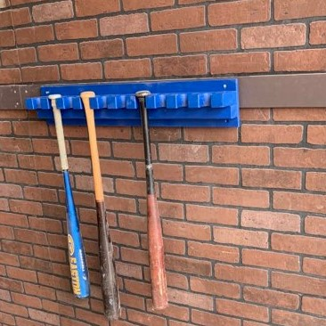 Dugout Hanging Bat Racks